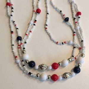 7/$15 long bead necklace
